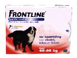 Frontline dog spot on 40 60 kg 3 pip