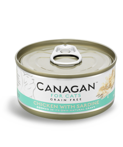Canagan Chicken with Sardine natvoer 75 gram