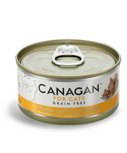 Canagan Ocean Tuna with Chicken natvoer 75 gram