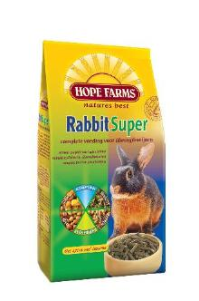 Hope farms rabbit supertrio 3 kg