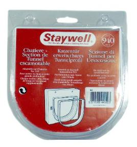 Staywell tunnelstuk 940 wit