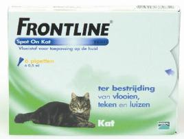 Frontline cat spot on 6 pip